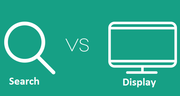 Search vs display Ridge Marketing Services